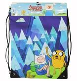 Adventure Time Adventure Time Blue Mountain Gym Drawstring Bag Jake and Finn