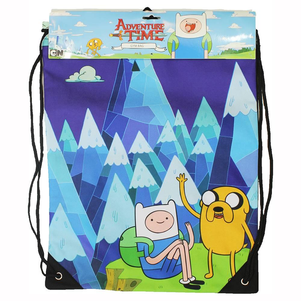 Adventure Time Adventure Time Blue Mountain Koordtas Gymtas Blauw