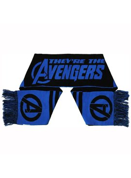 Marvel Comics: The Avengers, Captain America, Spider-Man, The Hulk, Thor, Black Panther, Deadpool, Ant-Man, Iron Man, The Punisher Marvel Comics The Avengers Knitted Scarf