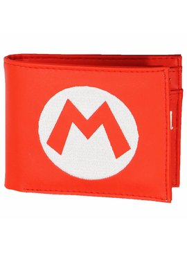 Super Mario Bros Super Mario Big M Bifold Wallet