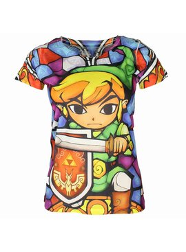 The Legend of Zelda The Legend ofZelda Link Full Colour Women Shirt