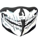 Facemasks Facemask Mouth Cap Black or Black/Skull Print Black/White