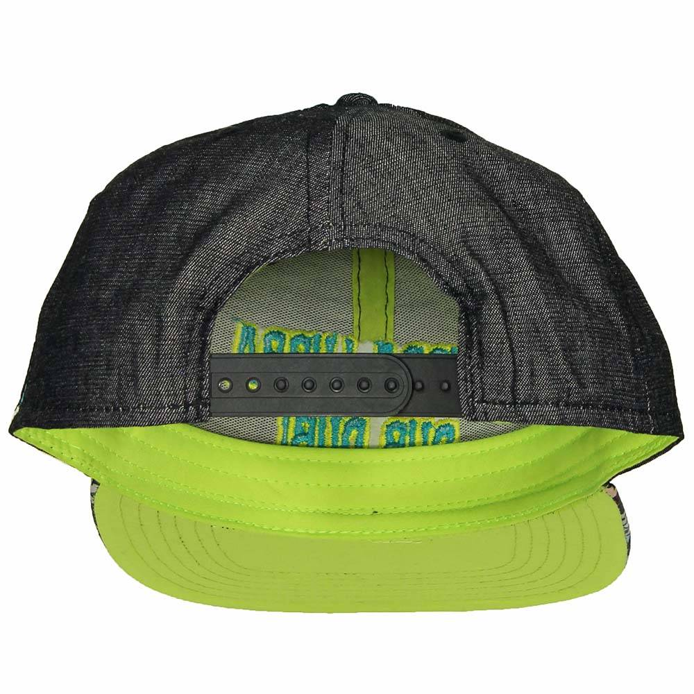 Rick and Morty Rick and Morty Wubba Lubba Snapback Cap Pet Multicolor