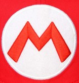 Super Mario Bros Super Mario Big M Snapback Cap Pet Rood/Wit