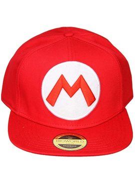 Super Mario Bros Super Mario Big M Snapback Cap Pet