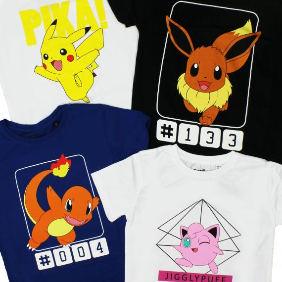 Pokémon Kindershirts bij Popmerch.com