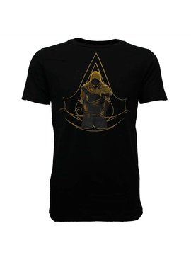 Assassins Creed Assassin's Creed Origins Logo with Bayek T-Shirt