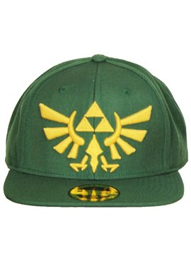 The Legend of Zelda The Legend of Zelda Hyrulian Crest Logo Snapback Cap