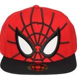Spider-Man Spider-Man 3D Snapback Cap Pet met Mesh Ogen Rood/Zwart/Wit