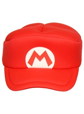 Super Mario Bros Super Mario Cosplay Cap for Adults