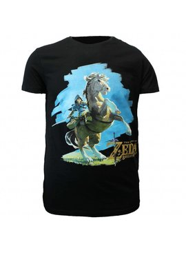 The Legend of Zelda The Legend of Zelda: Breath of The Wild Link On His Horse T-Shirt