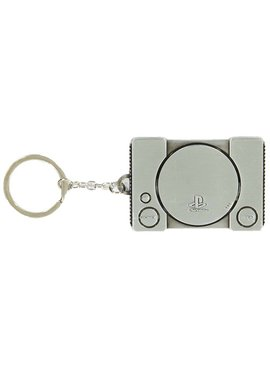 PlayStation  Playstation 1 Console Metal Keychain