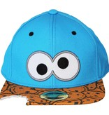 Sesame Street / Sesamstraat Sesamstraat Cookie Monster Snapback Cap Pet Blauw/Zwart/Bruin