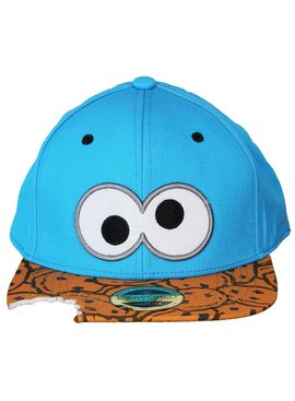 Sesame Street / Sesamstraat Sesamstraat Cookie Monster Snapback Cap Pet