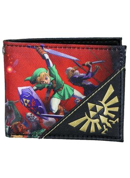 The Legend of Zelda The Legend of Zelda Ocarina of Time Bifold Wallet