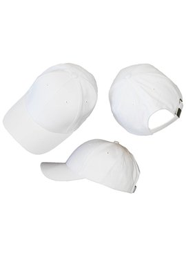 Basics Basic Plain Cap White 3-Pack