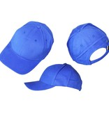 Basics Basic Plain Cap Blue 3-Pack