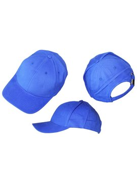 Basics Basic Plain Cap Blue 3-Pack
