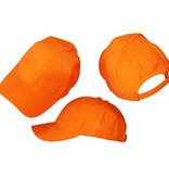 Basics Basic Blanco Pet Oranje 3 Stuks