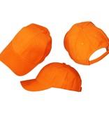 Basics Basic Plain Cap Orange 3-Pack