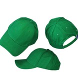 Basics Basic Plain Cap Green 3-Pack