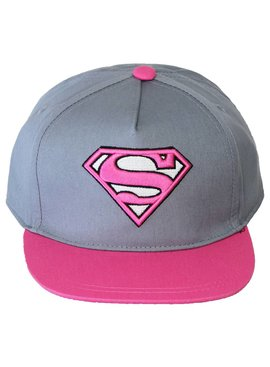 DC Comics: Superman, Batman, The Joker & The Flash Superman Supergirl Snapback Cap Pet