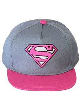 Superman Superman Supergirl Snapback Cap Pet