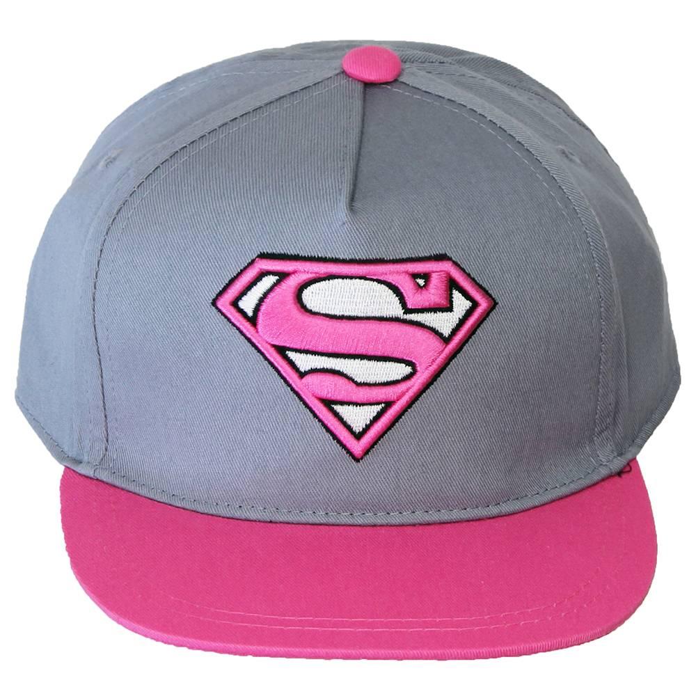 premium selection d4ba7 f0803 ... australia dc comics superman batman the joker superman supergirl snapback  cap pink grey dfb3e a9266