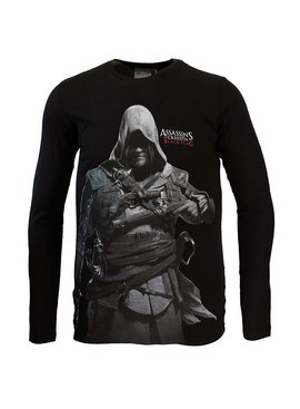 Assassin's Creed Assassins Creed Black Flag Longsleeve Black