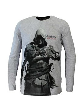 Assassin's Creed Assassins Creed Black Flag Longsleeve Grijs