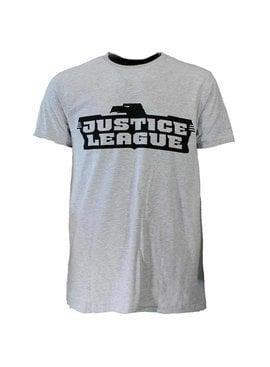 DC Comics: Superman, Batman & The Joker Justice League T-shirt Grey