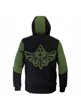 The Legend of Zelda The Legend of Zelda Hyrulian Crest Logo Vest met Capuchon