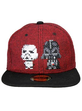 Star Wars Star Wars Pixel Darth Vader & Stormtrooper Snapback Cap Pet