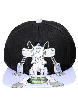 X- Rick and Morty Snowball Snapback Cap Pet