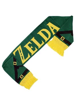 The Legend of Zelda The Legend of Zelda Logo Knitted Scarf