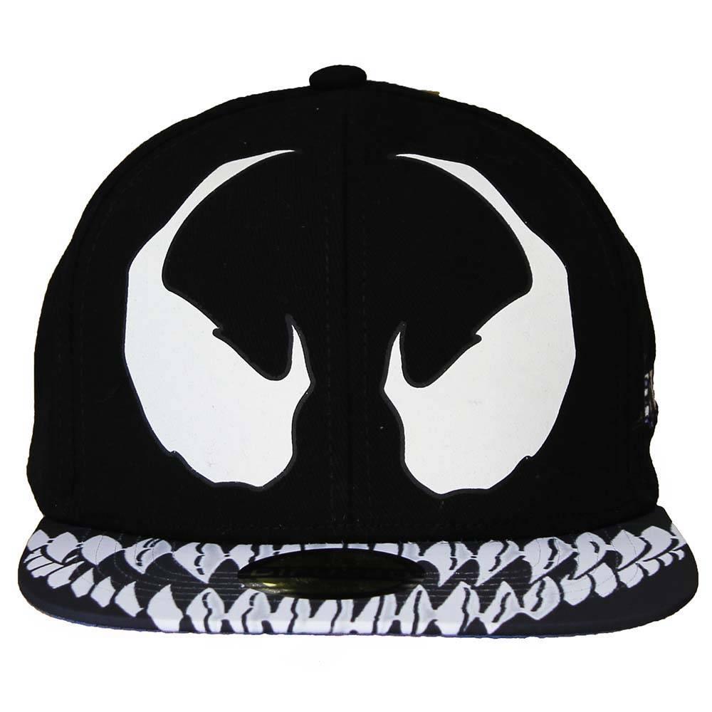 Spider-Man Spiderman Venom Snapback Cap Pet Zwart/Wit
