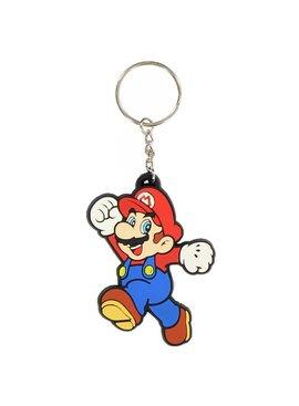 Super Mario Bros Nintendo Super Mario Jumping Rubber Keychain