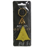 Assassin's Creed Assassin's Creed Odyssey Logo Metal Keychain Copper-Coloured