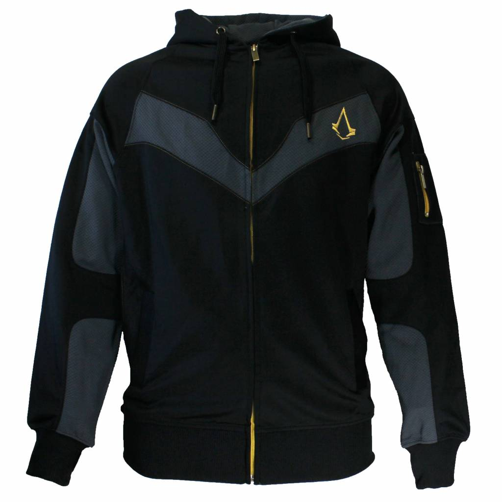 Assassin's Creed Assassin's Creed Syndicate Parkour Zipper Hoodie Grey/Black/Gold