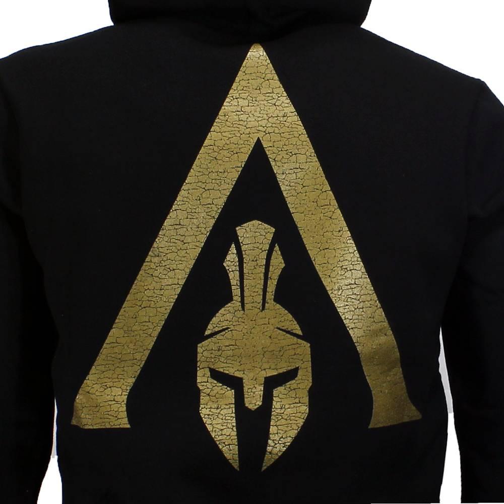 Assassin's Creed Assassin's Creed Odyssey Spartan Heren Hoodie Vest met Capuchon Zwart / Goud
