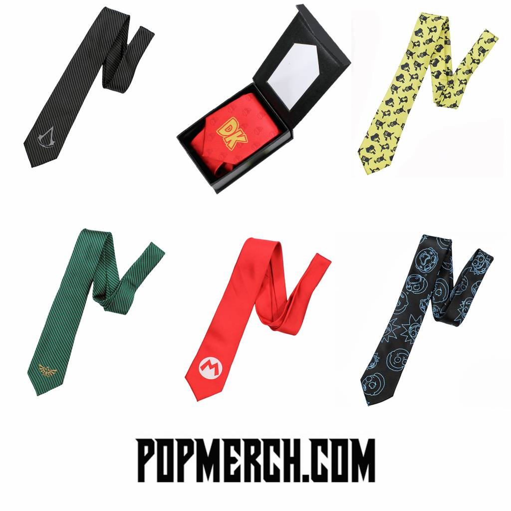 New In: Neckties from your favorite TV shows and games!