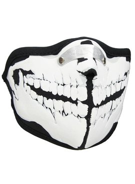 Facemasks Facemask Skimask Skeleton Teeth Print