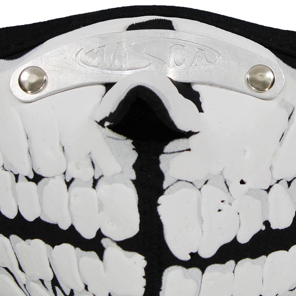 Facemasks Facemask Skimask Dracula Animal Skeleton Print Black / White