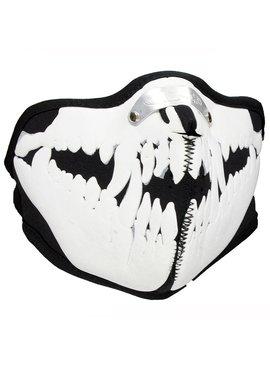Facemasks Mondkap Skimasker Dracula Dieren Skelet Print