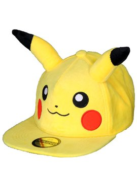 Pokémon Pokémon Pikachu Pluche Snapback Cap Pet met Oren