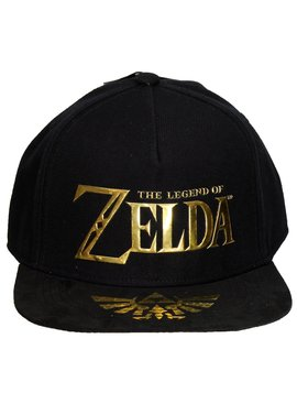 The Legend of Zelda The Legend of Zelda Gold Logo Snapback Cap
