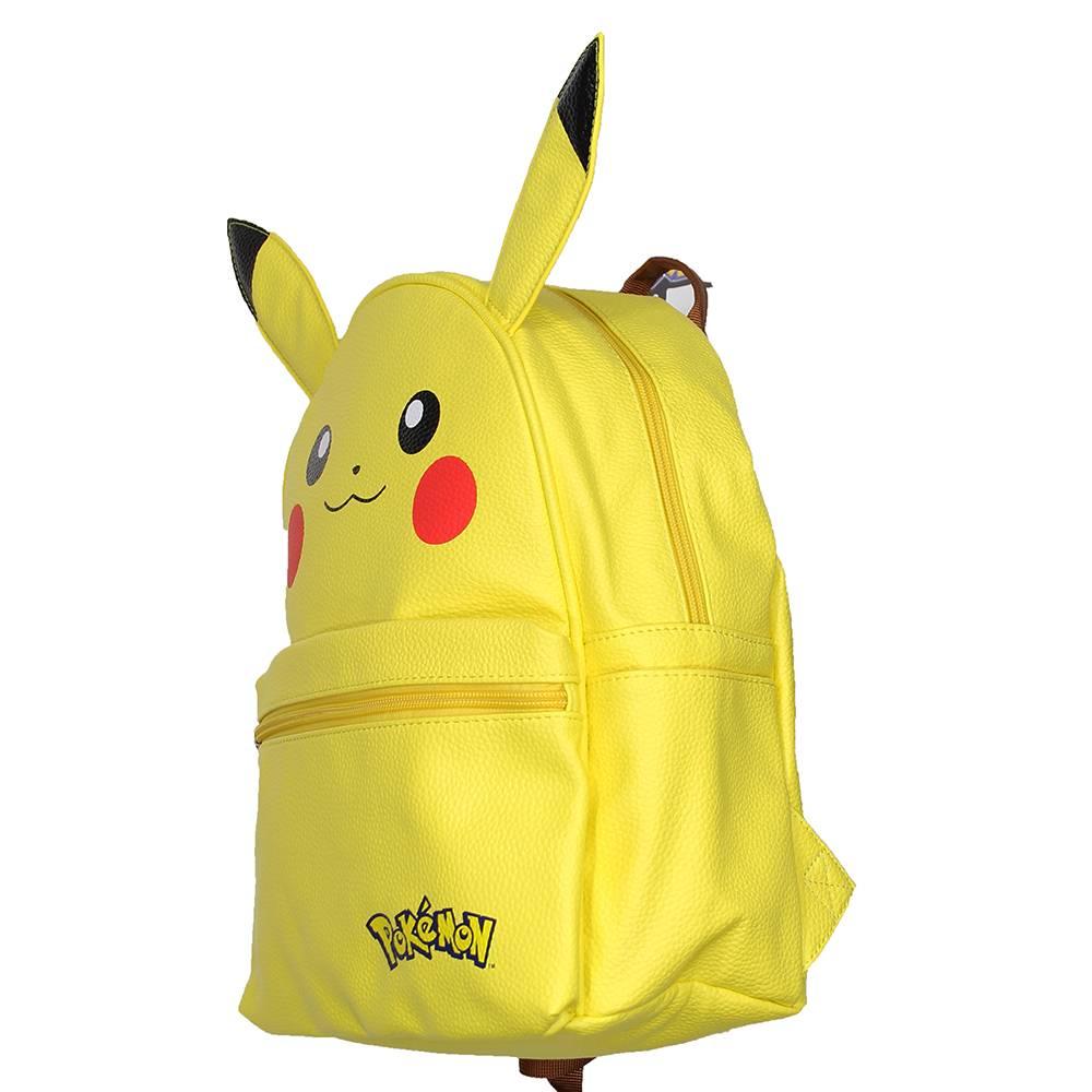 a3ccf63b556 ... Pokémon Pokémon Pikachu PU Leren Rugzak met Oren Geel ...