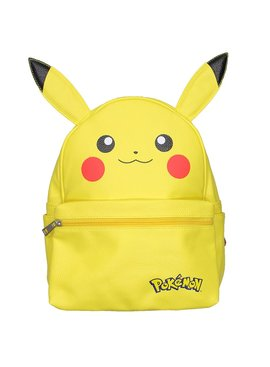 Pokémon Pokémon Pikachu PU Leather Backpack with Ears