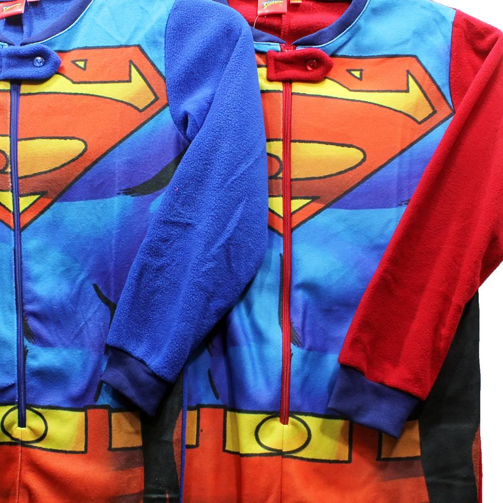 Superman Superman Kinder Onesie Blauw / Rood