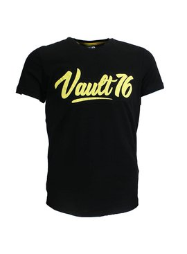 Fallout Fallout 76 Oil Vault Logo Patch T-shirt